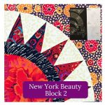 New York Beauty Patchwork Template Set 2 by OzQuilts Custom Quilt Template Sets - OzQuilts