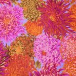 Japanese Chrysanthemum - Pink by The Kaffe Fassett Collective Japanese Chrysanthemum - OzQuilts
