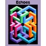 Echoes Quilt Pattern by Ruth Ann Berry by Quilters Clinic 3D Quilts - OzQuilts
