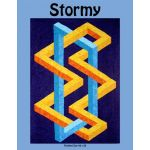 Stormy Quilt Pattern by Ruth Ann Berry by Quilters Clinic 3D Quilts - OzQuilts