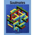 Soulmates Pattern, by Ruth Ann Berry by Quilters Clinic 3D Quilts - OzQuilts