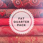 Aboriginal Art Fabric 5 Fat Quarter Bundle - Light Red Colourway by M & S Textiles Fat Quarter Packs - OzQuilts