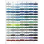 Wonderfil Polyfastª 40wt Trilobal Polyester Thread 1000m spool - P2106 Dark Seashell Blue by Wonderfil Polyfast 40wt Trilobal Polyester - OzQuilts