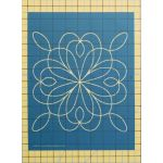 "Full Line Stencil Spice is Nice 8"" by Hancy Full Line Stencils Pounce Pads & Quilt Stencils - OzQuilts"