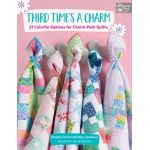 Third Times A Charm Book by Barbara Groves and Mary Jacobson by Martingale & Company Pre-cuts & Scraps - OzQuilts