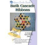 Batik Cascade Ribbons Quilt Pattern and Template by Karen Combs by Karen Combs 3D Quilts - OzQuilts