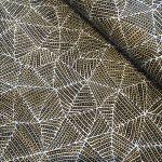 Bush Plum & Waterhole Gold Australian Aboriginal Art Fabric by June Bird by M & S Textiles Cut from the Bolt - OzQuilts