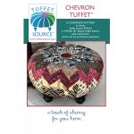 Chevron Tuffet Pattern - companion pattern for the Pieced Tuffet kit by Tuffet Source Table Toppers, Tuffets & Runners - OzQuilts