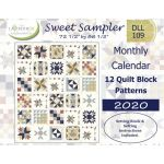 Sweet Sampler Quilt Book by Lavender Lime Quilting Quilt Books - OzQuilts
