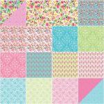 Sweet Melody Fat Quarter Bundle by Riley Blake, 18 Fat Quarters by Riley Blake Designs Fat Quarter Packs - OzQuilts