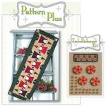 Topsy Turvey Santa Pattern and Embellishment Kit by Happy Hollow Designs Christmas - OzQuilts