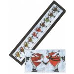 Glee Skating Reindeer Pattern and Embellishment Kit by Happy Hollow Designs Christmas - OzQuilts