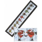Glee Skating Reindeer Embellishment Kit Only by Happy Hollow Designs Christmas - OzQuilts