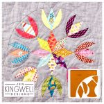 Tulip Star Tempter Patchwork Quilt Block Template set by Jen Kingwell Designs by Jen Kingwell Designs Jen Kingwell Designs Templates - OzQuilts