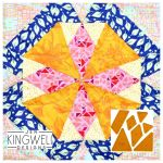 Woodward Tempter Patchwork Quilt Block Template set by Jen Kingwell Designs by Jen Kingwell Designs Jen Kingwell Designs Templates - OzQuilts