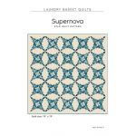 Supernova Quilt Pattern by Edyta Sitar by Laundry Basket Quilts Quilt Patterns - OzQuilts