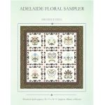 Adelaide Floral Quilt Sampler Pattern by Michelle Hill by Michelle Hill - William Morris in Quilting Applique - OzQuilts