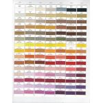 Wonderfil Polyfast Thread Colour Chart by Wonderfil Polyfast 40wt Trilobal Polyester Thread Colour Charts - OzQuilts