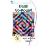Batik Go Round Pattern Pattern by Karen Combs by Karen Combs 3D Quilts - OzQuilts