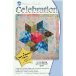 Celebration Quilt Pattern + Acrylic Templates by Karen Combs by Karen Combs 3D Quilts - OzQuilts