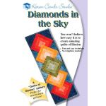 Diamonds in the Sky Pattern Pattern by Karen Combs by Karen Combs 3D Quilts - OzQuilts