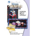 More Patchwork Illusions Quilt Pattern + Acrylic Templates by Karen Combs by Karen Combs 3D Quilts - OzQuilts