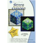 Stars Galore Pattern + Acrylic by Karen Combs 3D Quilts - OzQuilts