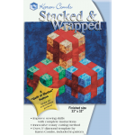 Stacked & Wrapped Pattern & Acrylic Template by Karen Combs by Karen Combs 3D Quilts - OzQuilts