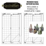 Quiltsmart Mondo Bag Printed Interfacing Panels by Quiltsmart Bag Patterns - OzQuilts
