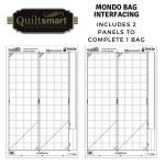 Quiltsmart Mondo Bag Printed Interfacing Panels by Quiltsmart Quiltsmart Kits - OzQuilts