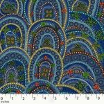 Rebirth Butterfly Spirits Blue by Heather Kennedy by M & S Textiles Cut from the Bolt - OzQuilts