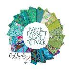 Kaffe Fassett Collective Classics - Island - 20  Fat Quarters by The Kaffe Fassett Collective Fat Quarter Packs - OzQuilts