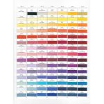 Wonderfil Splendor Thread Colour Chart by Wonderfil Splendor 40wt Rayon Thread Colour Charts - OzQuilts