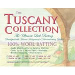 "Hobbs Tuscany Wool Batting, Queen size, 96"" x 108"" by Hobbs Batting Pre-Cut Batts - OzQuilts"