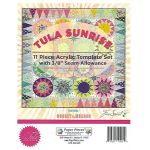 Tula Sunrise 11 Piece Acrylic Template Set by Tula Pink by Tula Pink EPP Templates - OzQuilts