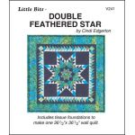 Double Feathered Star Pattern and Tissue Foundation Papers by A Very Special Collection Patterns & Foundation Papers - OzQuilts