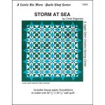 Storm At Sea Pattern and Tissue Foundation Papers by A Very Special Collection Patterns & Foundation Papers - OzQuilts