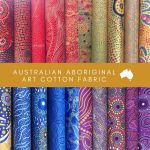Aboriginal Art Fabric 20 Fat Quarter Bundle H by M & S Textiles Fat Quarter Packs - OzQuilts