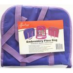Embroidery Floss Bag, Lavender Colour by Sew Easy Embroidery - OzQuilts
