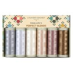 Edyta Sitar Laundry Basket Quilts Thread Pack - Penelope's Perfect Blends by Edyta Sitar of Laundry Basket Quilts Invisafil 100wt Cottonized Poly - OzQuilts