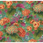 Rose and Hydrangeas - Green by The Kaffe Fassett Collective Rose and Hydrangea - OzQuilts