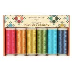 Edyta Sitar Laundry Basket Quilts Thread Pack - Tiffany's Touch of a Rainbow by Edyta Sitar of Laundry Basket Quilts Invisafil 100wt Cottonized Poly - OzQuilts