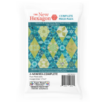 The New Hexagon 2 By Katja Marek Complete Paper Piece Pack by Martingale & Company EPP Papers - OzQuilts