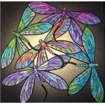 Dance of the Dragonfly Quilt Kit in Topaz by JoAnn Hoffman Kits - OzQuilts