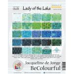 Lady of The Lake Pattern & Foundation Papers by Jacqueline de Jongue by BeColourful Quilts by Jacqueline de Jongue BeColourful Quilts by Jacqueline de Jongue - OzQuilts