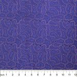Bush Seeds Purple by Cindy Wallace by M & S Textiles Coming Soon - OzQuilts