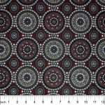 Bush Berry Red by Marlene Doolan by M & S Textiles Coming Soon - OzQuilts