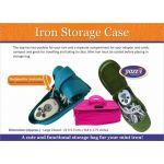 Yazzii Iron Storage Case Aqua CA580 by Yazzii Yazzii Organisers - OzQuilts