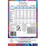 Trinity Quilt Pattern For the Stripology XL Ruler by Gudrun Erla by GE Designs Quilt Patterns - OzQuilts