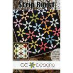 Strip Burst Quilt Pattern by Gudrun Erla by GE Designs Quilt Patterns - OzQuilts